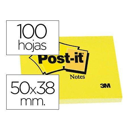 Post-it ® Bloc de notas adhesivas quita y pon
