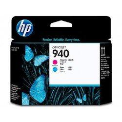Cabezal HP 940 cian y magenta C4901A