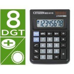 Calculadora sobremesa Citizen SDC-011S negra