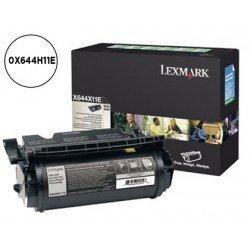 Toner Lexmark 0X644H11E negro