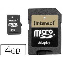 Memoria Intenso micro SD-HC 4 GB