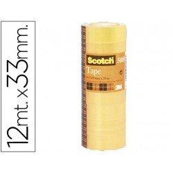 Cinta adhesiva Scotch 508 paquete de 12 rollos