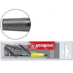 Repuesto portagomas Stabilo smartgraph blister de 3 unidades