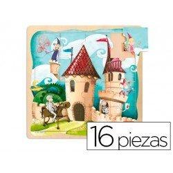 Puzzle a partir de 3 años Castillo 16 piezas marca Goula