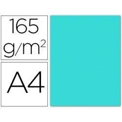 Papel color Liderpapel azul celeste A4 165g/m2
