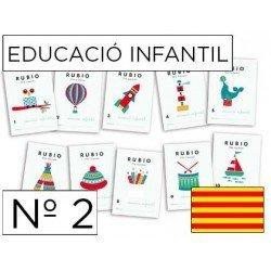 Cuaderno Rubio educacion infantil Nº2 Catalan