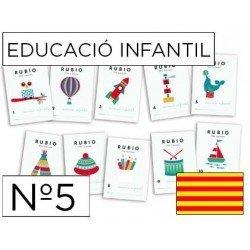 Cuaderno Rubio educacion infantil Nº5 Catalan