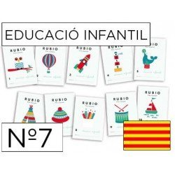 Cuaderno Rubio educacion infantil Nº7 Catalan