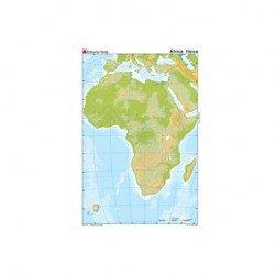 Mapa mudo Africa fisico