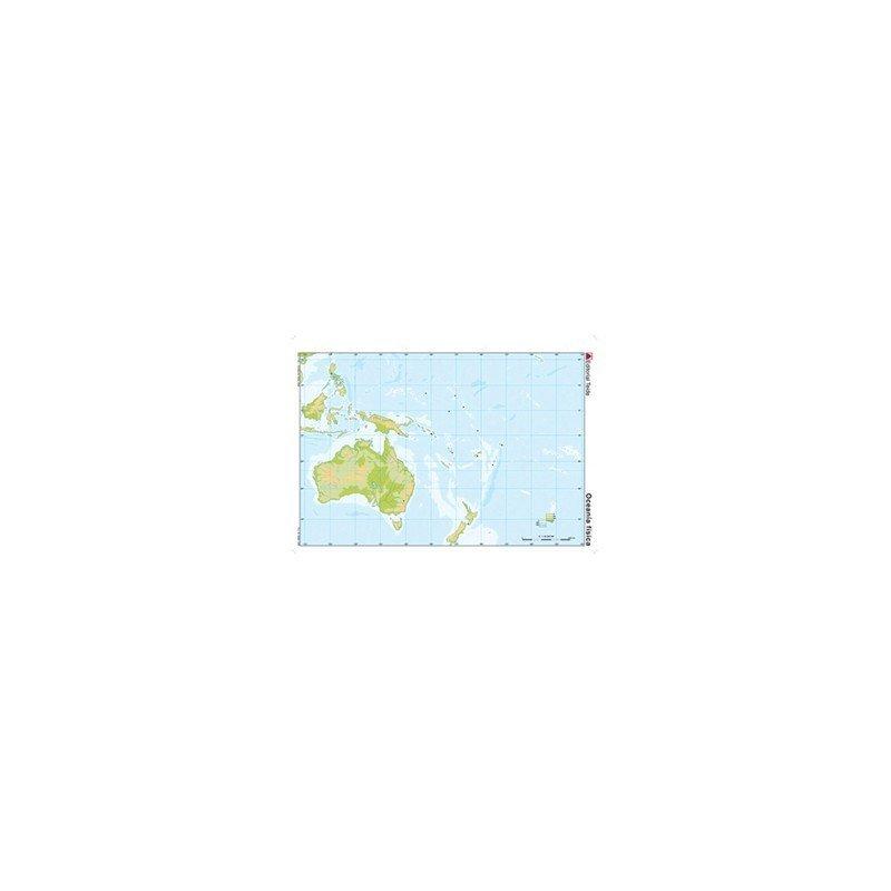 Mapa mudo Oceania fisico 24599  20milproductos