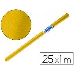 Bobina papel kraft Liderpapel 25 x 1 m amarillo oro