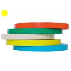 Cinta adhesiva Precintadora Tesa film color amarillo