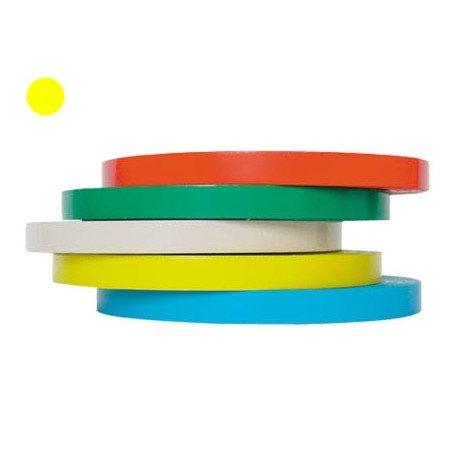 Cinta adhesiva Precintadora Tesa film color amarillo 66 m x 9 mm