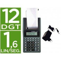 Calculadora impresora Citizen pantalla papel CX-77BN