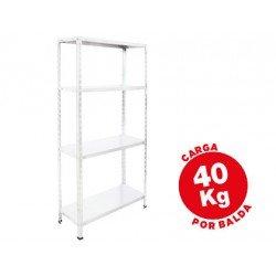 Estantería AR Storage metálica 4 estantes