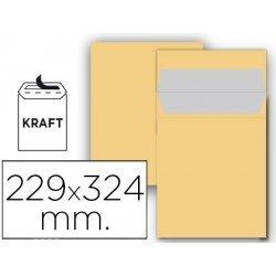 Sobre bolsa Liderpapel C4 Kraft Caja 25