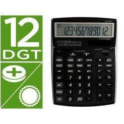 Calculadora sobremesa Citizen ccc-112 B 12 digitos negra