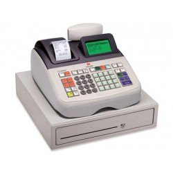 Registradora Olivetti ecr 8200 s cajon grande profesional conectable pc y lector codigos