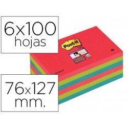 Post-it ® Bloc notas quita y pon 76 x 127 mm