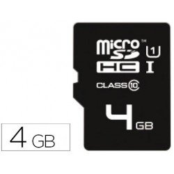 Memoria Emtec Flash Micro SDHC 4GB