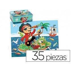 Puzzle a partir de 3 años Pirata marca Goula