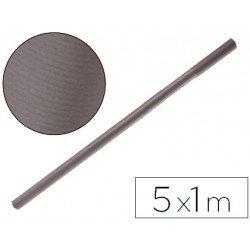 Bobina papel kraft Liderpapel 5 x 1 m gris