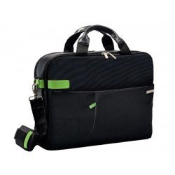 "Maletin para portatil 15,6"" Esselte Smart Traveller negro y verde"