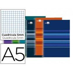 Bloc Liderpapel Din A5 Classic cuadricula 5 mm surtidos