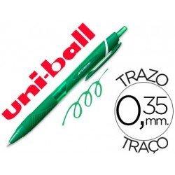 Boligrafo Uni-Ball roller SXN157C Jetstream verde 0,35 mm