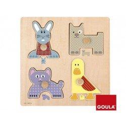 Puzzle a partir de 1 año Mamas y bebes marca Goula
