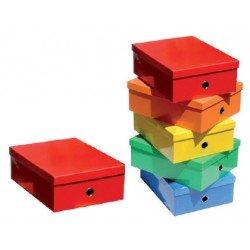 Caja Fast-Paperflow carton forrado colores surtidos