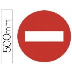 Señal vial Syssa entrada prohibida