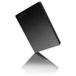 Disco duro slim TOSHIBA 500 GB negro
