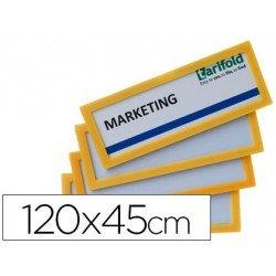 Marco Identificación Tarifold Adhesivo 120x45mm