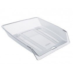 Bandeja sobremesa Offisys plastico 1025 transparente 345x265x65mm