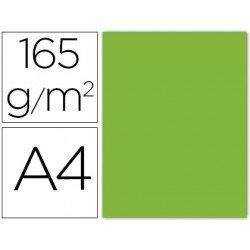Papel color Liderpapel lima A4 165g/m2 9 hojas