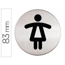 Señal Durable WC Mujer