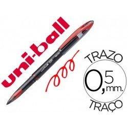 Boligrafo Uni-Ball roller AIR 188M rojo 0,5 mm