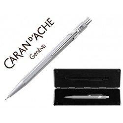Estuche gris portaminas Caran D´ache 844 trazo 0,7mm