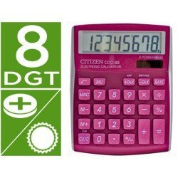 Calculadora sobremesa Citizen CDC-80 Rosa