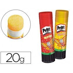 Pegamento Pritt en barra 20 gr Glitter Glue No se puede elegir color