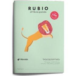 Cuaderno Rubio vacaciones 4º Primaria