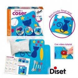 Juego educativo A partir de 6 años Aprende a Coser Diset