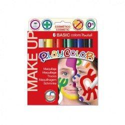 Barra de maquillaje Playcolor Basic 6 colores