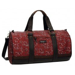 Bolsa de viaje Pepe Jeans 50x25x17cm Roja