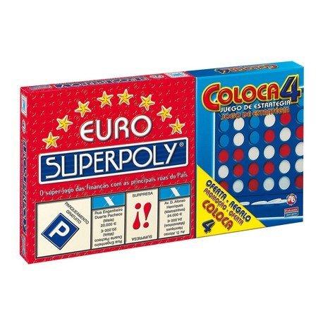Euro Superpoly + Coloca 4 Falomir Juegos