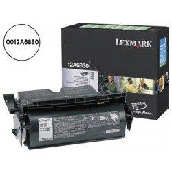 Tóner Lexmark 0012A6830 negro