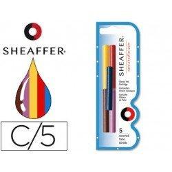 Cartuchos de tinta Sheaffer Classic colores surtidos