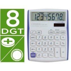 Calculadora sobremesa Citizen Modelo CDC-80 8 dígitos Violeta