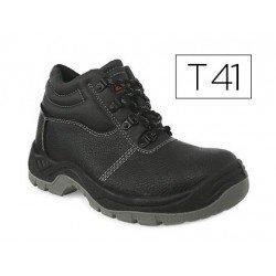 Botas de seguridad Marca Faru Cuero Negro Talla 41